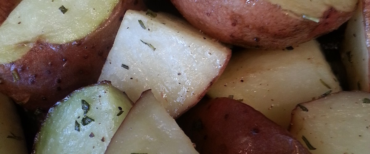 potatoes with rosemary slide