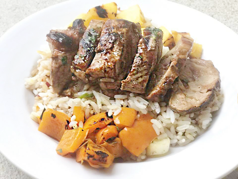 Grilled Hawaiian Pork Bowl Recipe