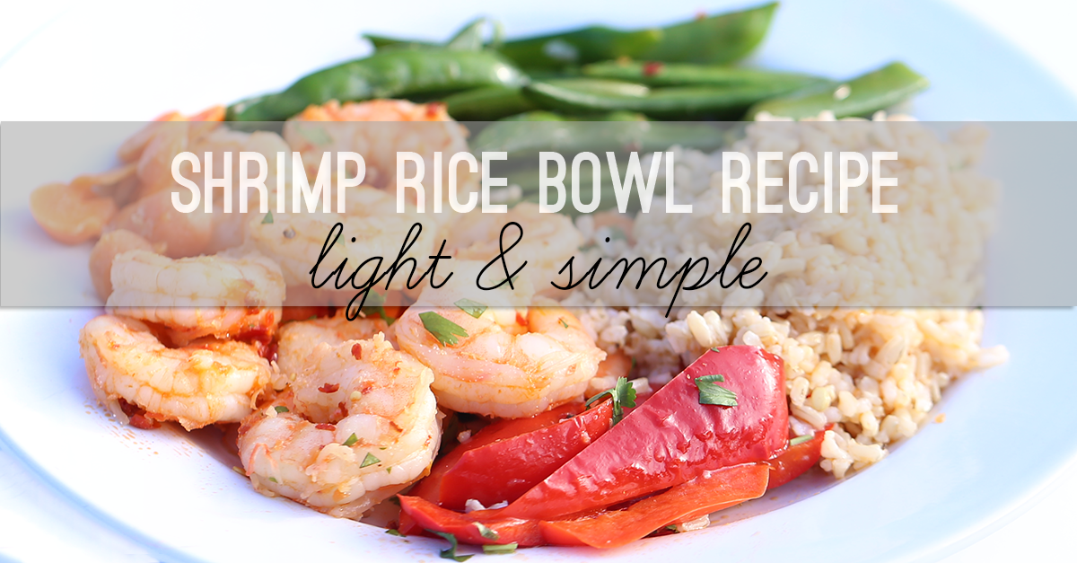 shrimp rice bowl recipe FB copy